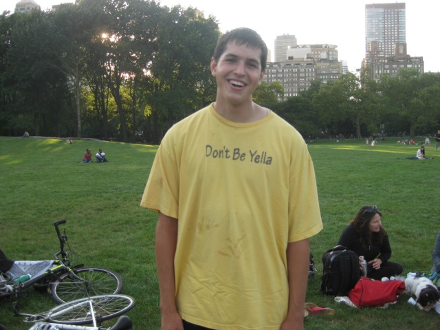 James Wiseman is Yella