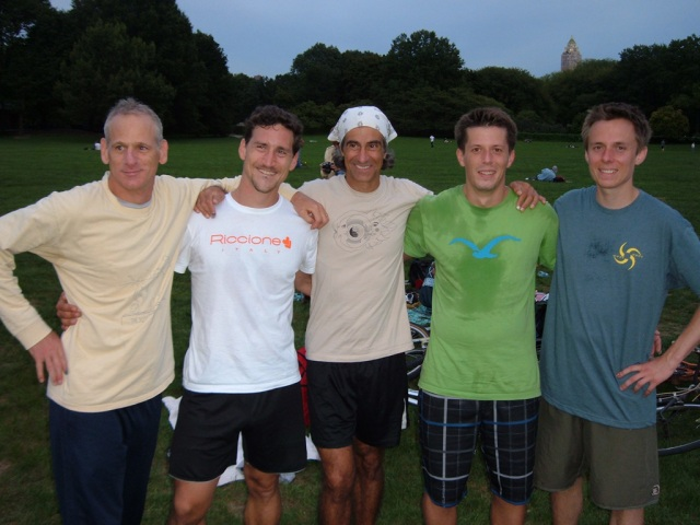 Roger, Anton, Robert, Stefan and Phillip